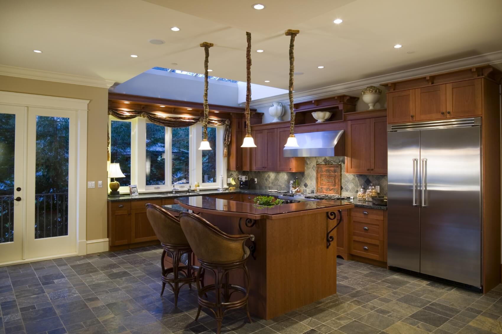Luxury real estate home kitchen