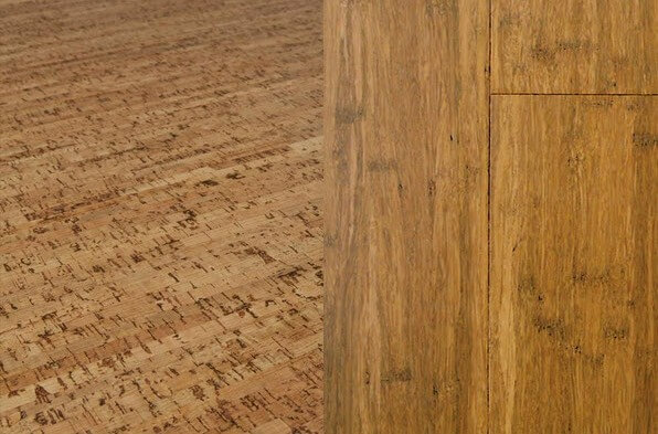 Sustainable floors new cork and bamboo flooring ideas Sustainable cork flooring