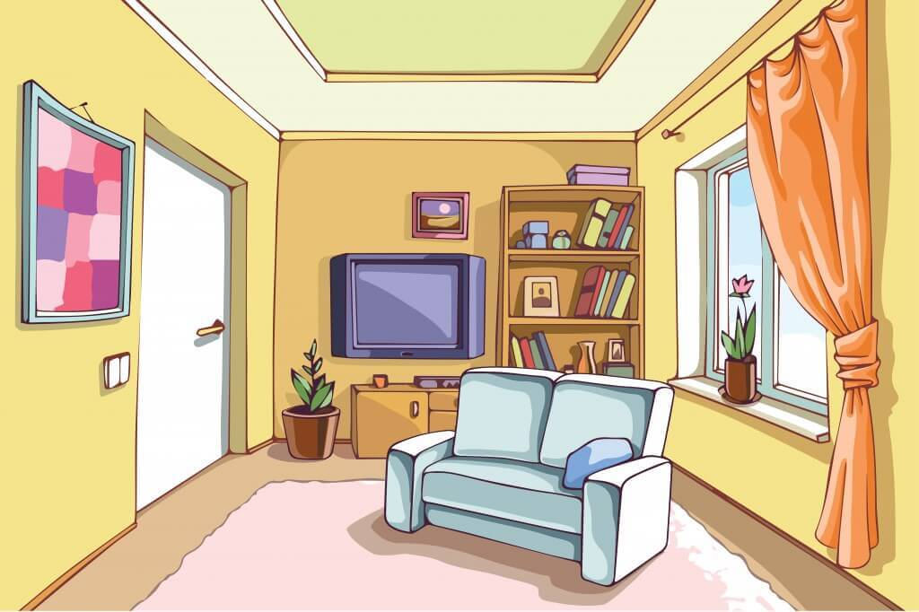 10 Ways To Visually Turn a Small Room into a Big Room : bright small living room illustration 1024x682 from www.builddirect.com size 1024 x 682 jpeg 67kB