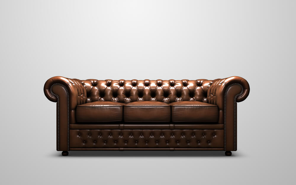 The Chesterfield; Classic Design That Endures Today, But Has Its Origins In  The Restoration Period In England When Seating Had To Be Adapted To The ...
