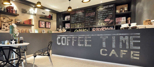 Coffee bar home decor ways to caffeinate your space for Kitchen design shops