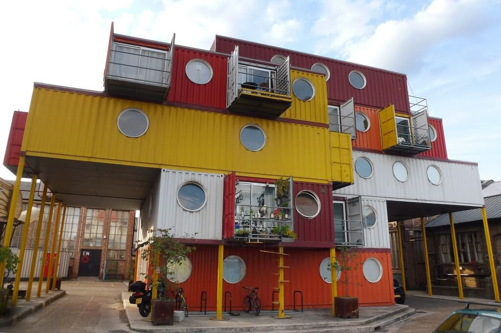 Shipping Containers Upcycled into Homes