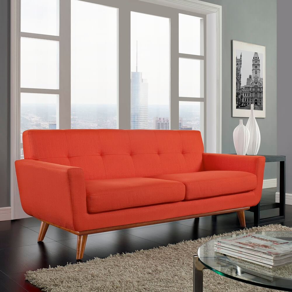 Modway Engage Upholstered Loveseat SKU: 15175872