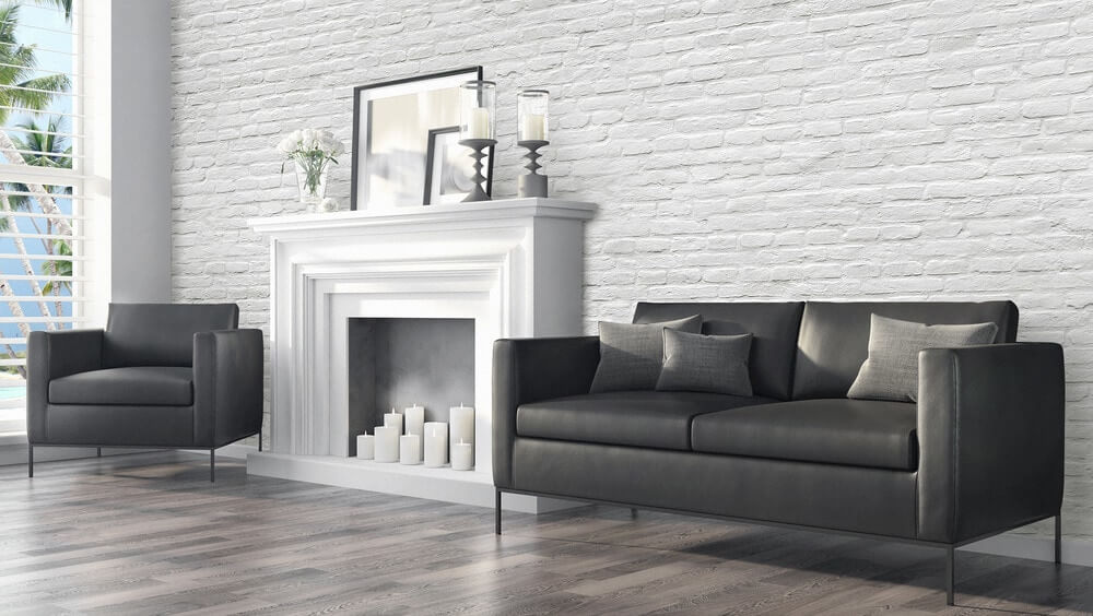 Walls Republic Contemporary Faux Brick Industrial Chic Brick Wallpaper SKU: 15067049