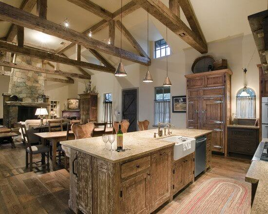 Room For Inspiration A Rustic Woodsy Living