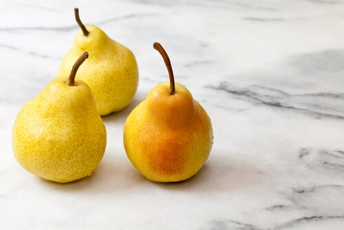 Yellow Pears Marble Countertop