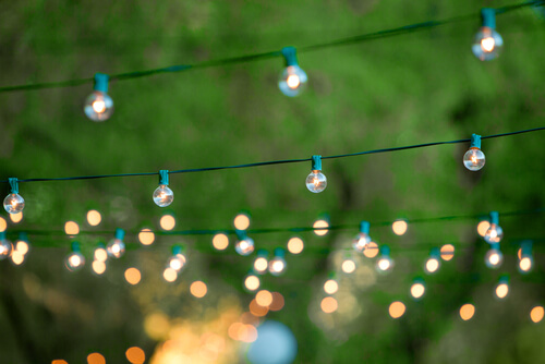string lighting deck summer