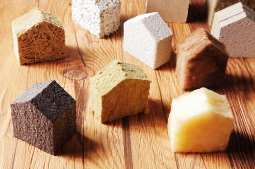 insulation different materials