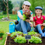 mother daughter easy gardening