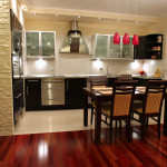 jatoba brazilian cherry flooring kitchen