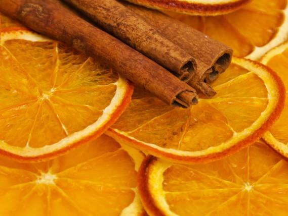orange slices cinnamon sticks potpourri