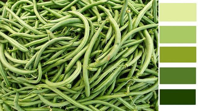 green bean color spectrum