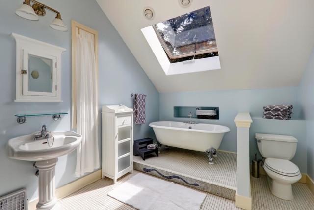 new bathroom attic
