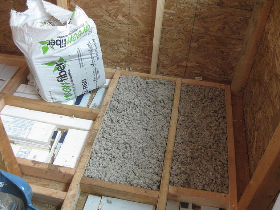 Recycled Insulation And Energy Efficiency Cellulose