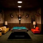 taxidermy games room