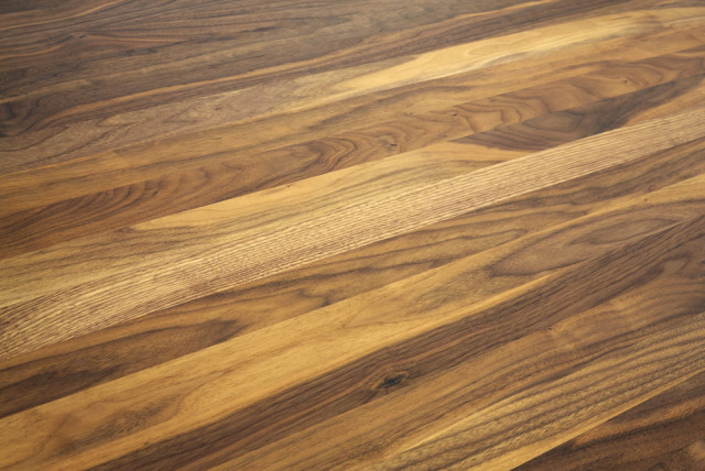 Teak hardwood floor grain pattern