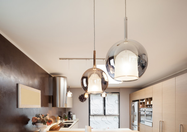 stylish ceiling kitchen