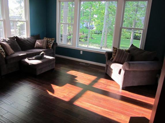 Brown Stone Cumaru Solid Wood Flooring