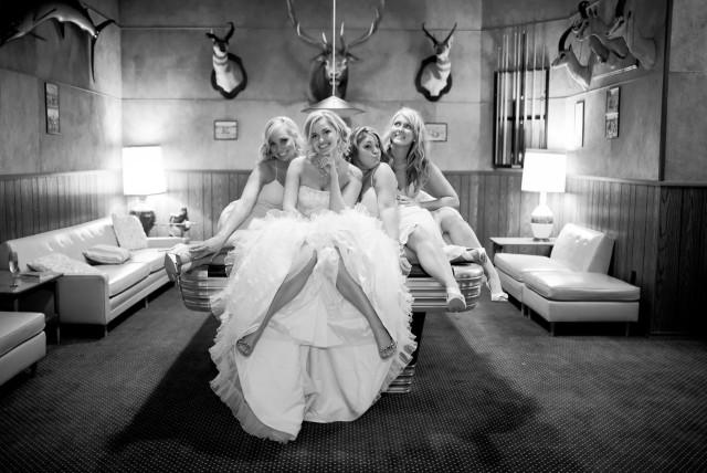 Taxidermy wedding