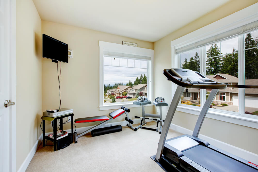 Home Gym Natural Light