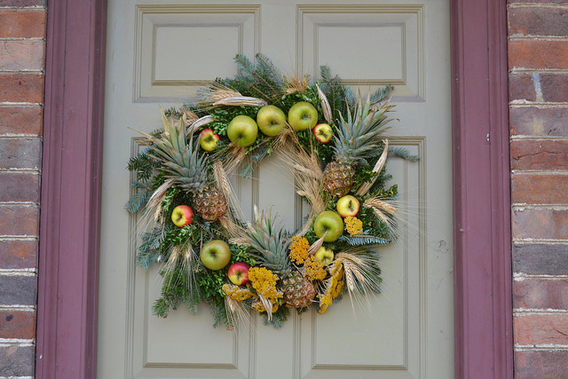 pineapple express wreath