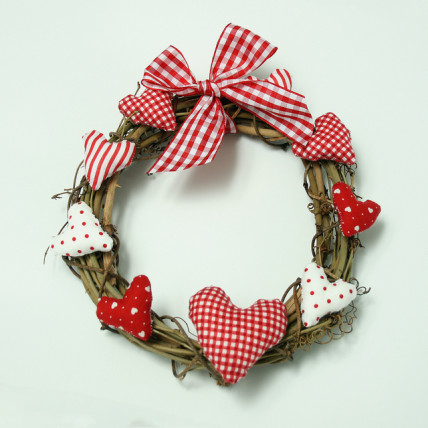 stolen hearts wreath