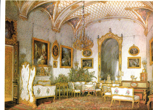 Vintage Drawing Room The Living