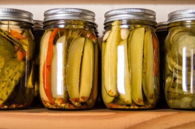 pantry mason jars