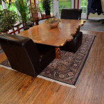brushed sandalwood flooring
