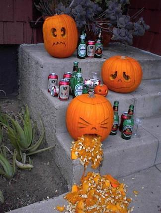 drunk jack o lanterns
