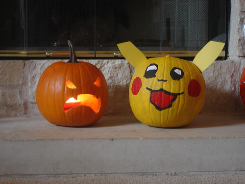 halloween pumpkin pokemon