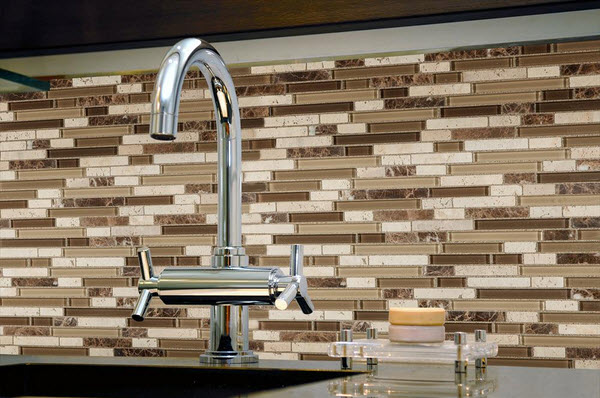 Kaska Mosaic Tile - Fusion Blend Pattern Series