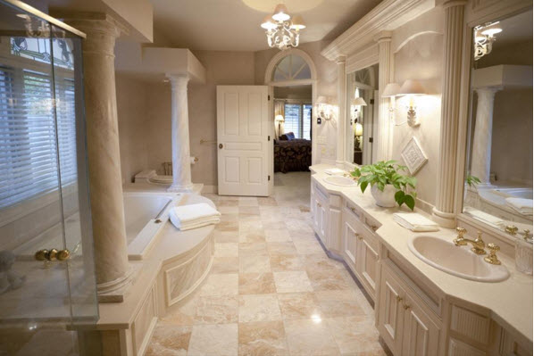 travertine bathroom. The Modern Bathroom  Stone