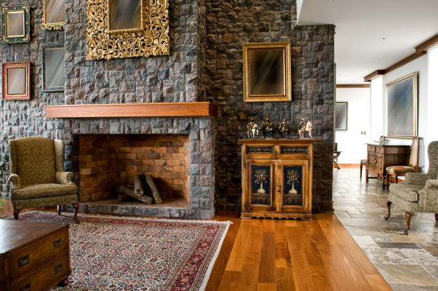 neo-classic living room design