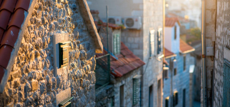 croatia european housing streets