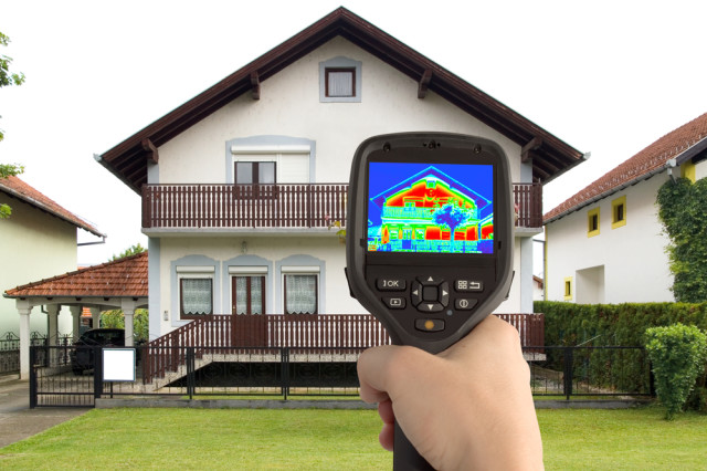 heat loss energy efficiency inspection infrared