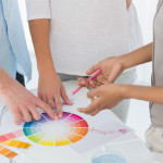 color wheel interior designer