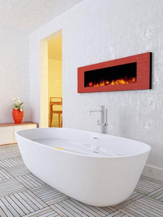modern bathroom standalone tub