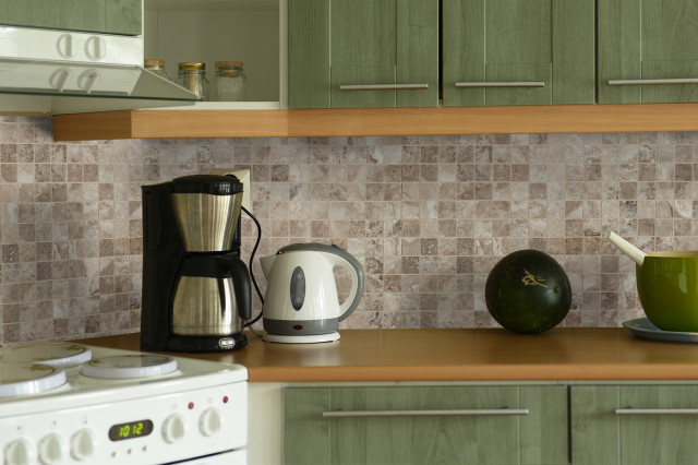 cultured-grey-room porcelain kitchen backsplash