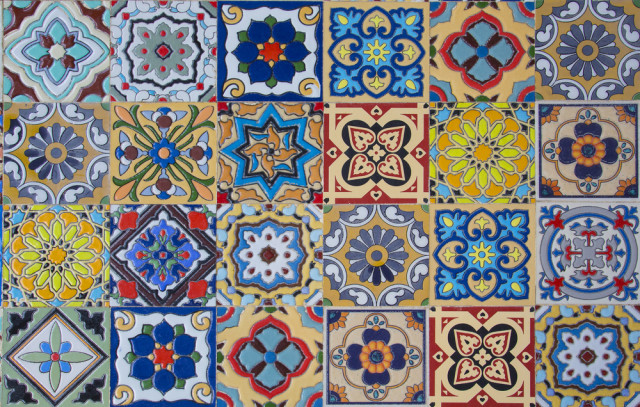 Image Result For Patterned Vinyl Floor Tiles