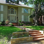 front yard garden landscaping