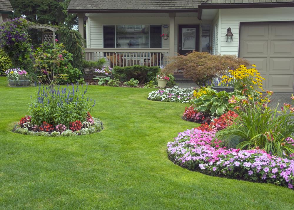 front yard landscaping ideas for curb appeal. Black Bedroom Furniture Sets. Home Design Ideas