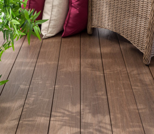 Pravol Dura-Shield Ultratex Ipe Hollow Grooved Composite Decking