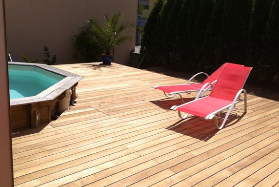 Pavilion Wood Decking - Thorwood Thermally Modified Decking