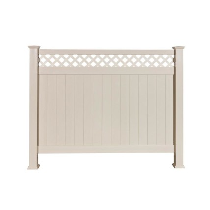 Lattice top fencing from BuildDirect
