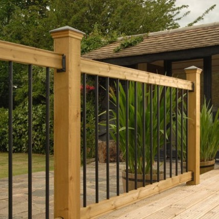 deck railings railing kits