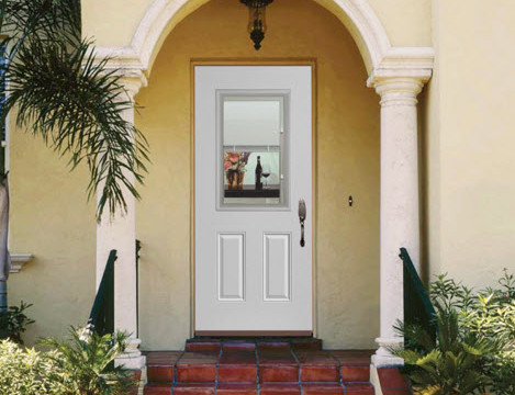 front door welcoming front entrance