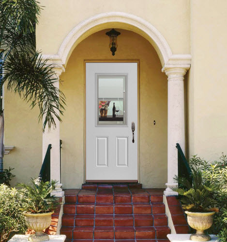 Welcome Visitors Inviting Exterior Front Entry Ideas