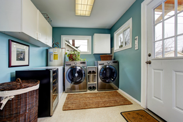 laundry room ideas decor cabinets modern - Laundry Room Decor