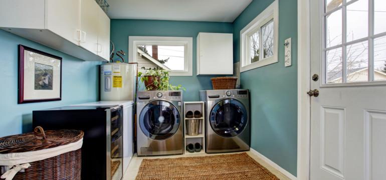 laundry room ideas decor cabinets modern